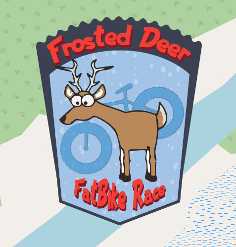Frosted Deer FatBike Race
